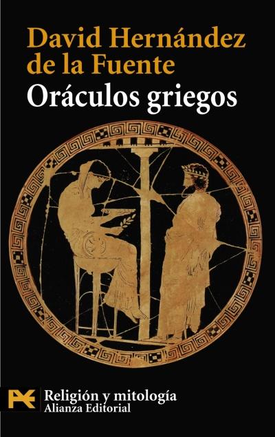 """Portada de """"Oráculos griegos"""""""