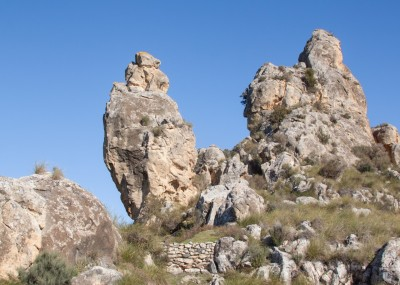 Vista del yacimiento. Foto: http://castillosyfortalezasdejaen.com