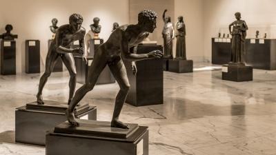 Bronces procedentes de Pompeya. Museo Arqueológico de Nápoles. Foto: RABASF.