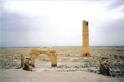 Yacimiento arqueológico de Harrán. Foto: Wikimedia Commons.