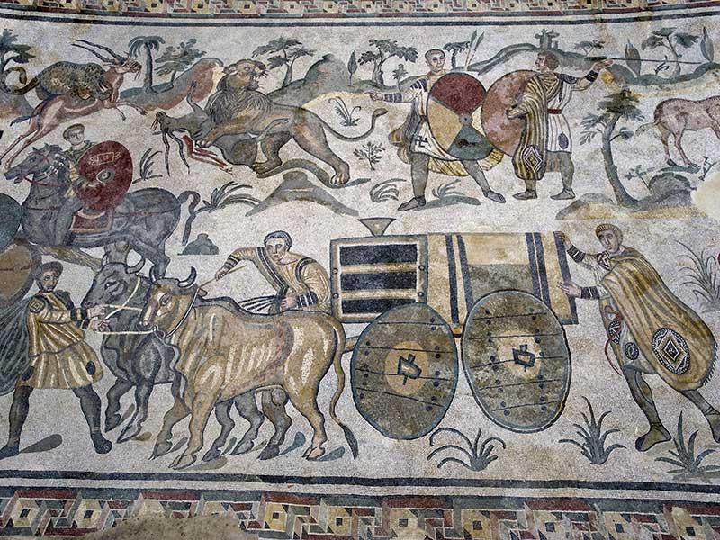 mosaico_ambulacro_grande_caccia