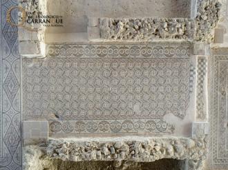 Vista cenital del mosaico de una de las estancias. Foto: PAC