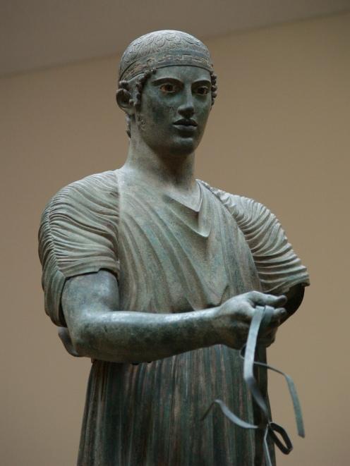 Auriga de Delfos. Museo Arqueológico de Delfos. Foto: Mario Agudo Villanueva