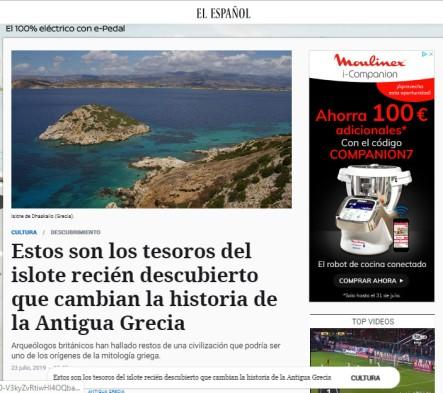 Titular de El Español